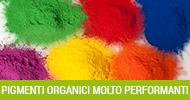 pigmenti organici molto performanti
